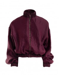 Purple Bomber Jacket