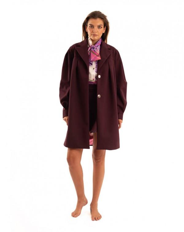 Trench Coat Purple