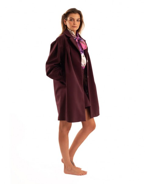 Trench Coat Purple