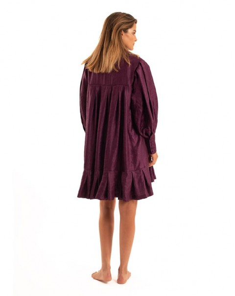 Midi Dress Purple