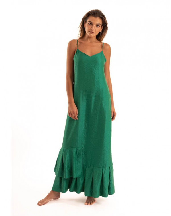 Slip Dress Green