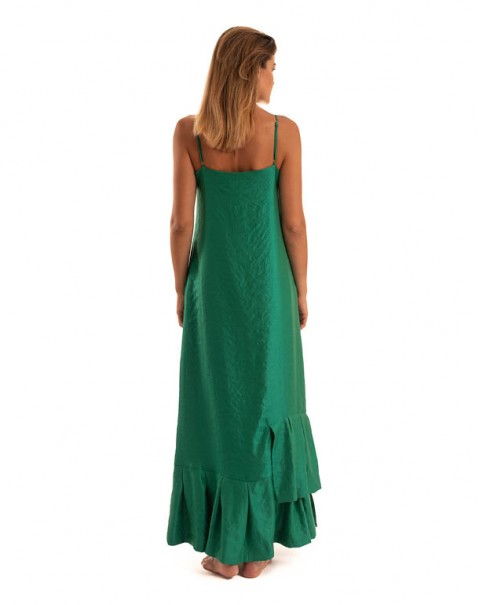 Slip Dress Green