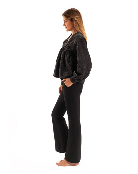 Flare Pants Black