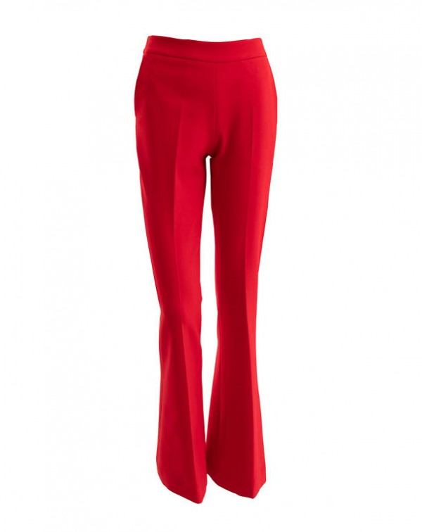 Flare Pants Red