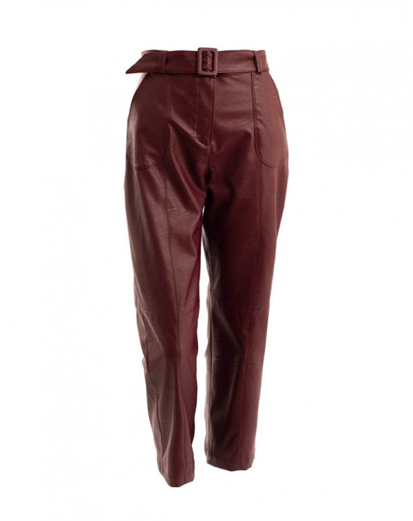 Nappa Pants Bordeaux