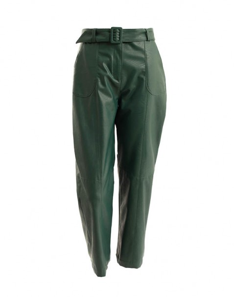 Nappa Pants Green