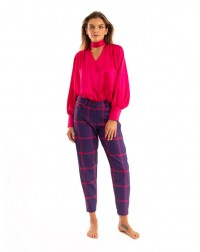 Sarouel Pants Purple