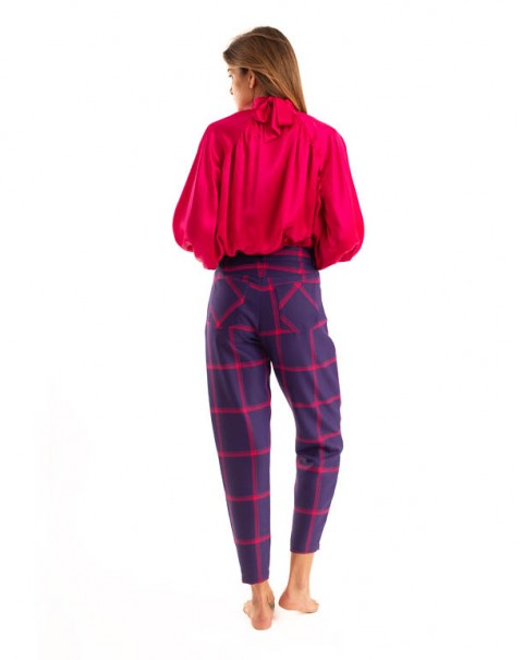 Sarouel Pants Purple