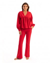 Balone Blouse Red