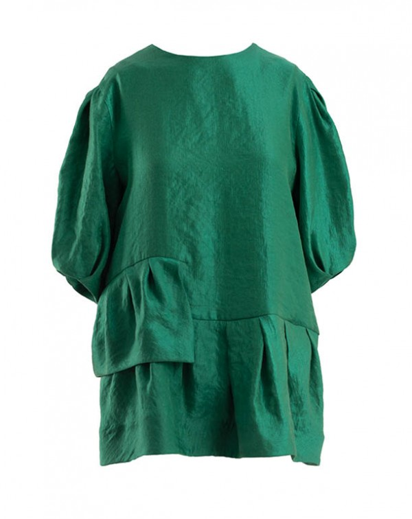 Layers Blouse Green