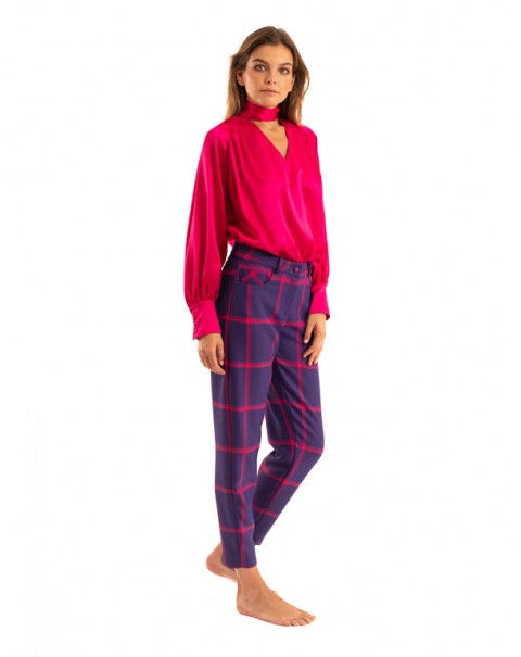 Silk Blouse Pink