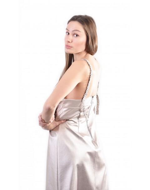 Napa Metallic Dress