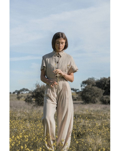 Safari Pants Jumpsuit
