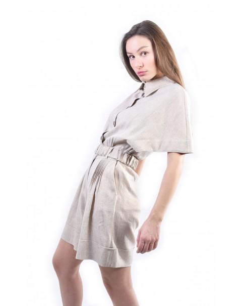 Safari Shorts Jumpsuit