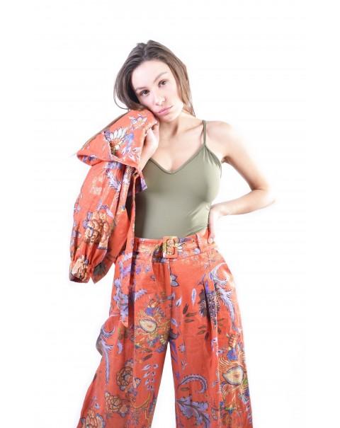Flower Large Pants