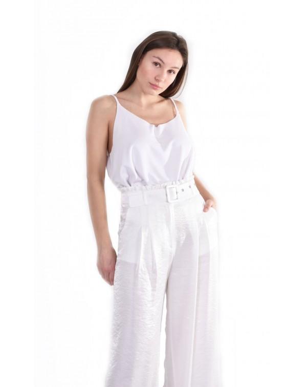 White Large Pants