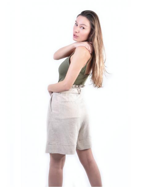 Safari Linen Shorts
