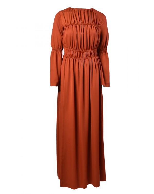 Slit Frown Dress