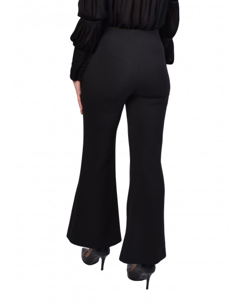 Flare Pants with Front Slit