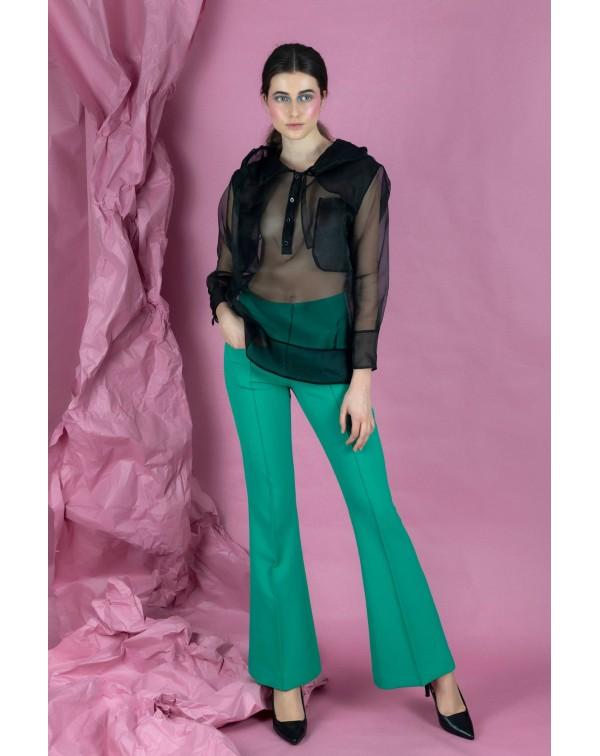 Green Bell Pants
