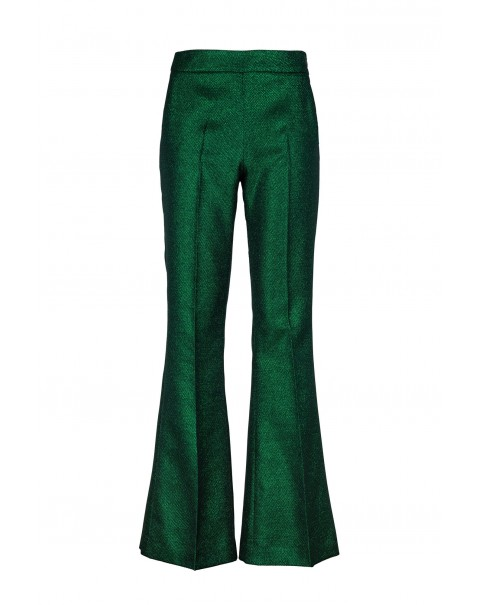 Bright Green Bell Pants