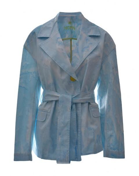 Tie-Dye Blazer Blue