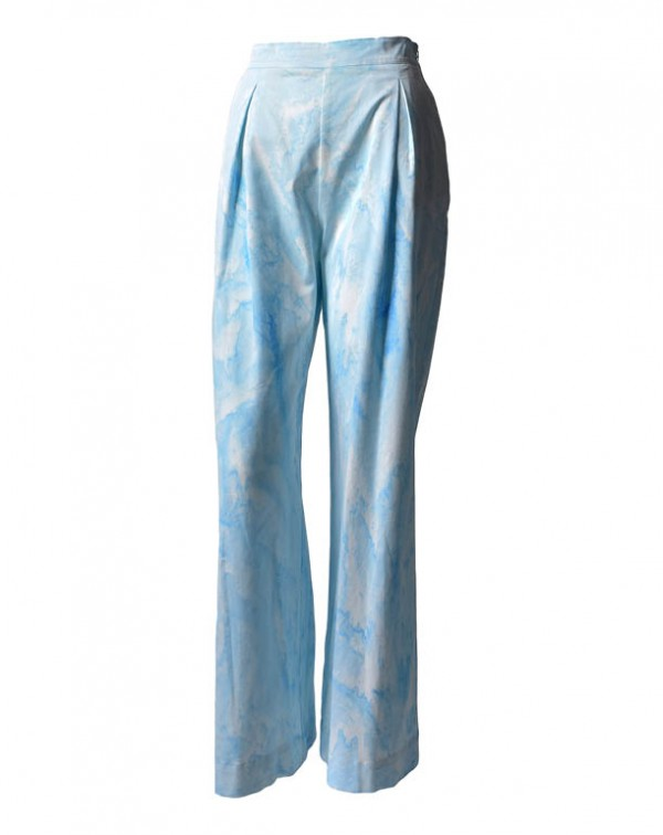 Tie-Dye Pants Blue