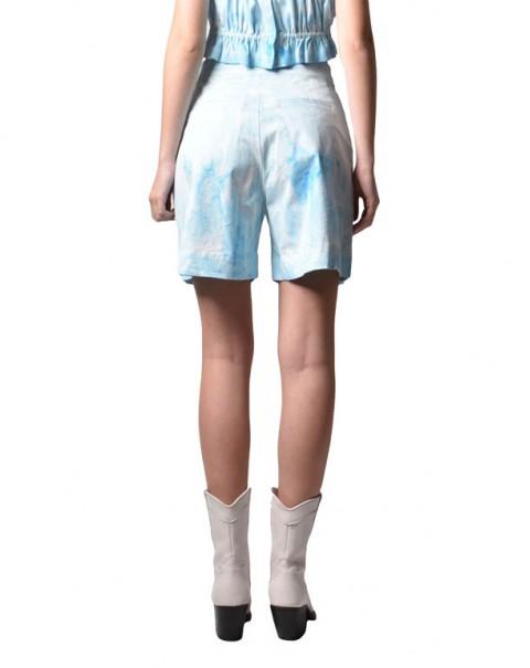 Tie-Dye Shorts Blue