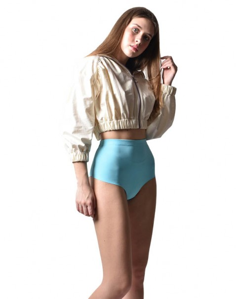 NOPIN Hotpant Blue