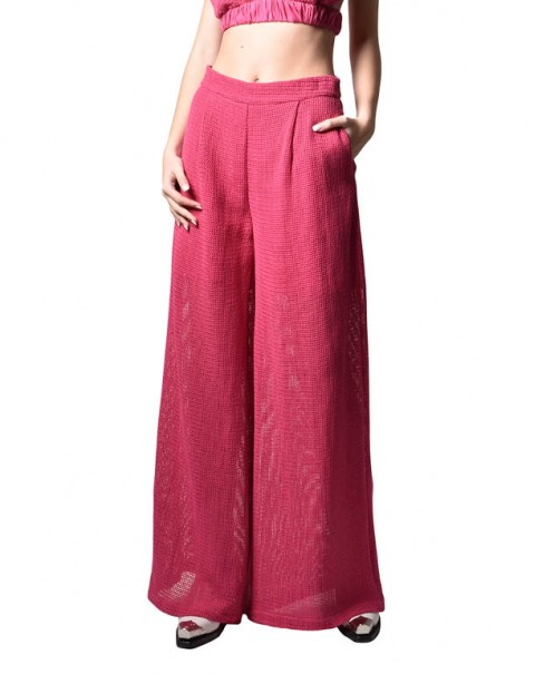 Wide Organic Cotton Pants