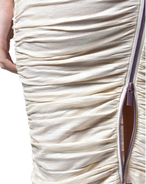 Shiny Pencil Skirt