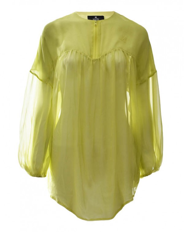 Silk Shirt Lemon