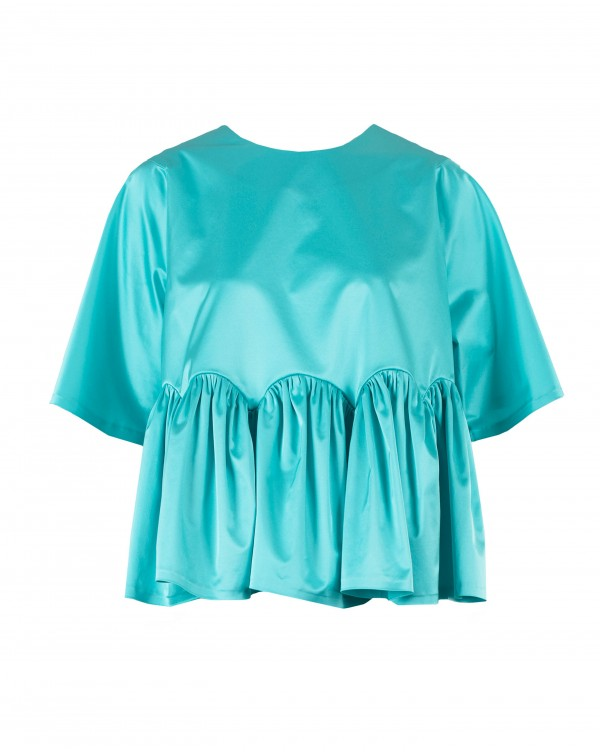 Blue Bud Blouse
