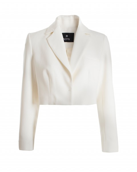 Pearl Cropped Blazer