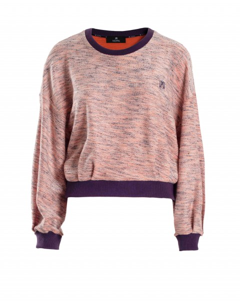 Orange and Purple Sweatshirt