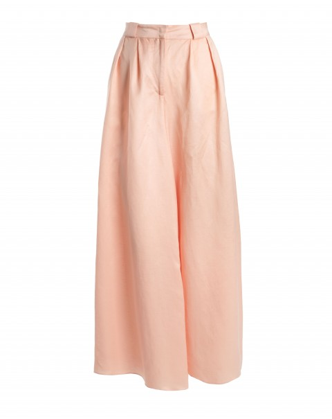 Light Orange Super Wide Pants