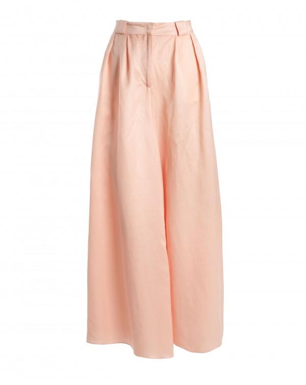 Light Orange Super Wide Pants