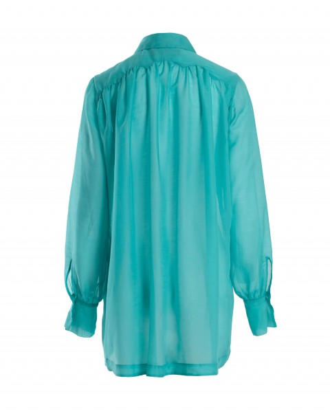 Silk Oversized Shirt