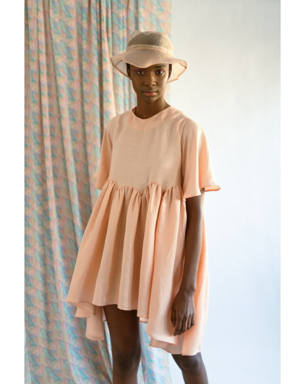 Light-Orange Bud Dress